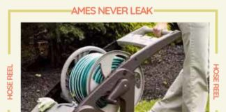 Ames Never Leak Hose Reel
