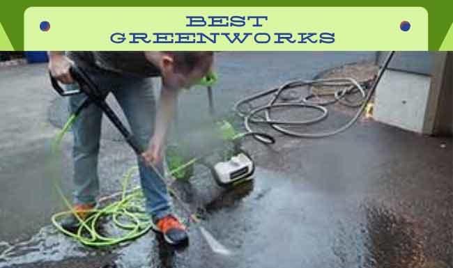 Best Greenworks Pressure Washer