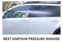 Best Simpson Pressure Washer