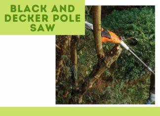 Black and Decker Pole Saw