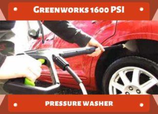 Greenworks 1600 PSI Pressure Washer