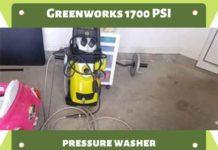 Greenworks 1700 PSI Pressure Washer
