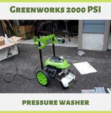 Greenworks 2000 PSI Pressure Washer