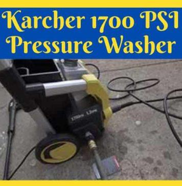 Karcher 1700 PSI Pressure Washer