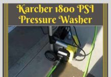 Karcher 1800 PSI Pressure Washer