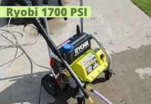 Ryobi 1700 PSI Pressure Washer