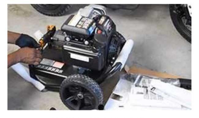 Simpson 3200 PSI Pressure Washer